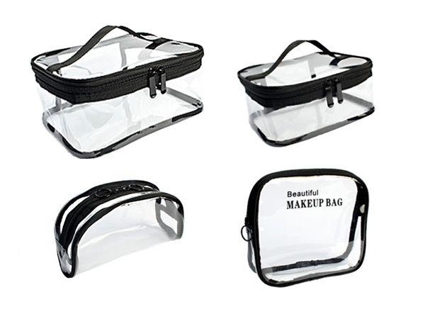 透明 收納袋 防水 收納袋 透明 化妝包