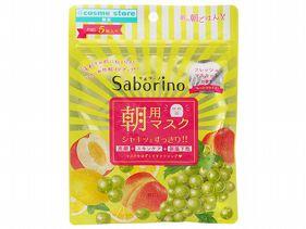 BCL~Saborino早安面膜(清新麝香葡萄)5枚入