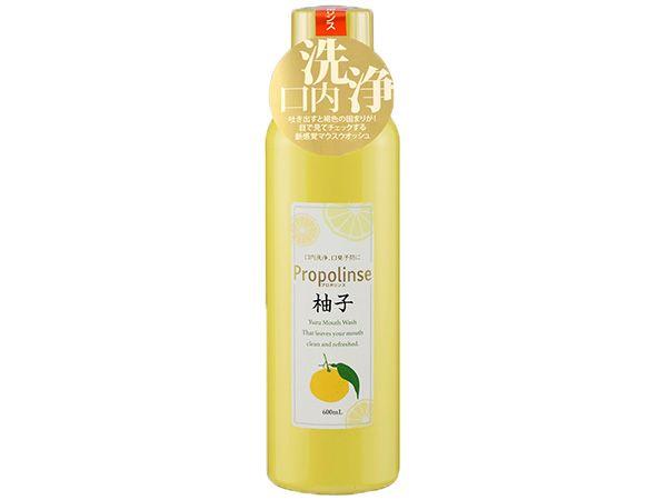 日本 Propolinse~柚子蜂膠漱口水(600ml)【D247196】