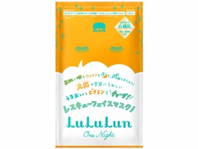 日本 LuLuLun~ONE NIGHT柔白面膜(單片35ml)