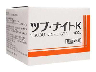 日本 Tsubu Night Pack~去油脂粒眼周去角質凝膠(100g)