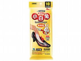 日本小林製藥~小白兔暖暖包3雙入(鞋墊式)