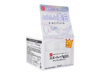 SANA 莎娜~豆乳美肌煥白多效凝膠霜(100g)