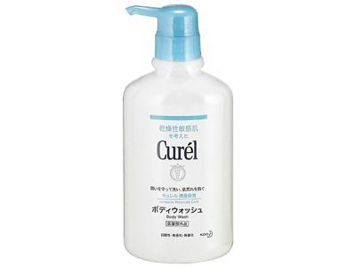 花王 Curel~乾燥性敏感肌系列-潤浸保濕沐浴乳(420ml)