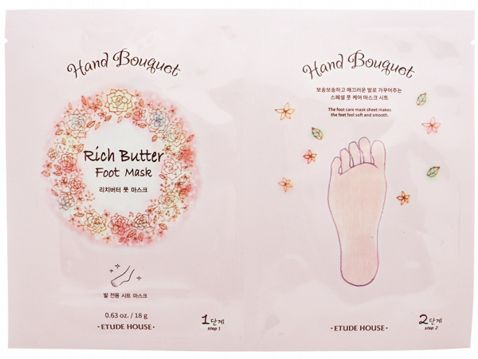 Etude House Rich Butter Foot Mask 1pc