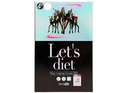 Lets diet~37度恆溫光澤褲(1件入)