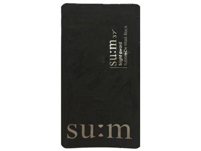 韓國 su:m 37~呼吸泡沫面膜(黑色)3ml