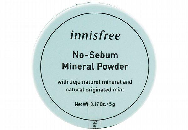 韓國 Innisfree~無油光天然薄荷礦物控油蜜粉(5g)【D941717】