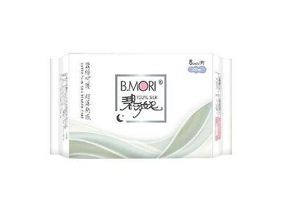 B.MORI碧多妮蠶絲衛生棉(夜用型8片)