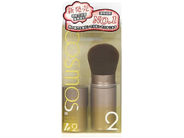 COSMOS~H34452-果凍系列 伸縮蜜粉修容刷(1支入)【D322090】