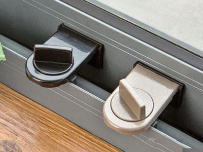 平移門窗兒童安全防盜鎖窗戶限位器(1入)