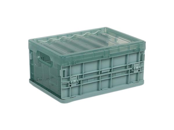 摺疊式收納箱-素色款(小-21x15x10cm)1入 【D021828】顏色隨機出貨