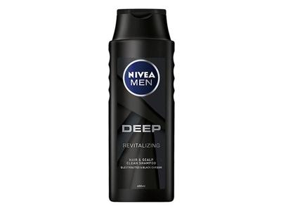 NIVEA 妮維雅~男士深極炭清新控油洗髮精(400ml)