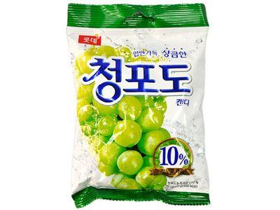 LOTTE 樂天~ 青葡萄糖果(119g)
