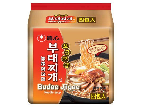 韓國 農心~部隊鍋拉麵(127gx4包)【D037797】 團購/泡麵