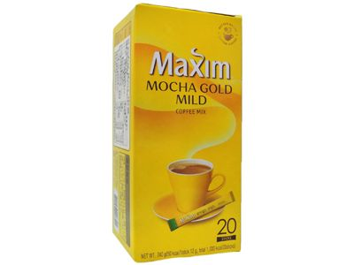 韓國 Maxim~摩卡咖啡(12gx20入)