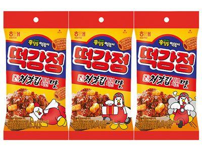 海太x起家雞~洋釀風味辣炒年糕餅(62g)