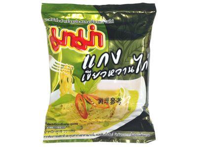 泰國 MAMA~雞肉綠咖哩風味麵(55g)媽媽麵/泡麵