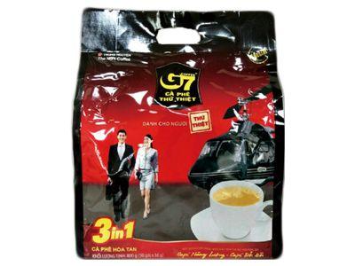 越南 G7~三合一即溶咖啡50入(袋裝)