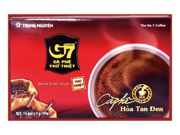 越南 G7~純咖啡15入(盒裝)【D120187】黑咖啡