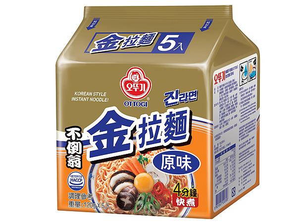韓國不倒翁~金拉麵(原味) 5入裝【D520308】