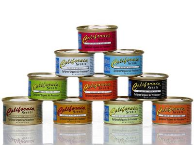 California Scents加州淨香草~有機芳香劑(42g) 多款香味可選
