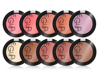 韓國 E-glips~亮彩粉嫩肌潤色腮紅/水晶肌光透亮顏餅/光誘美肌立體修容餅(4g) 多款可選