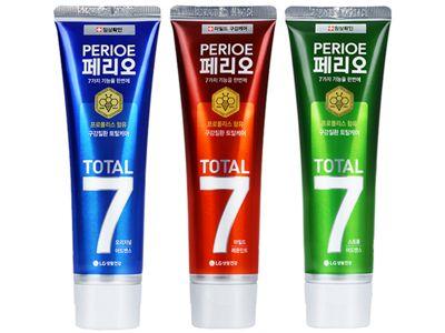 韓國 LG~ Perioe倍麗兒 7效蜂膠牙膏(120g) 多款可選