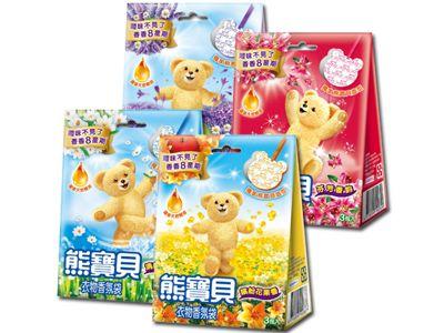 熊寶貝~衣物香氛袋(3包入) 多款可選