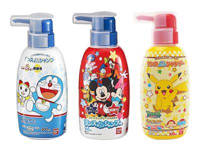 日本 BANDAI~兒童洗髮精(300ml) 多款可選