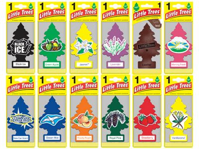 Little Trees-加州淨香草 小樹香氛片-全系列味道