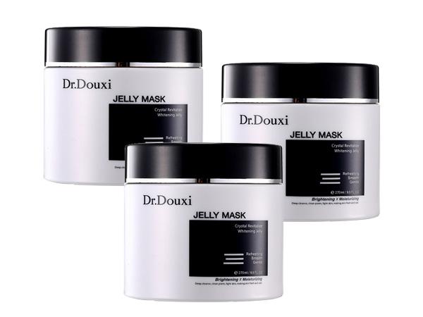 Dr.Douxi~朵璽~黑晶靈逆轉白嫩凍膜(250ml)3入組合款【D905029】
