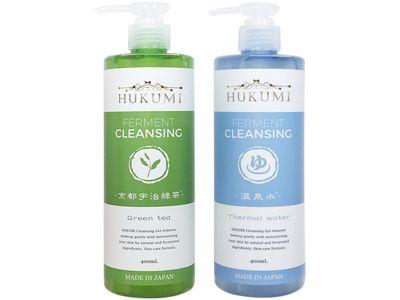 HUKUMI~京都宇治綠茶溫和/溫泉水深層保濕 卸妝凝膠(400ml) 兩款可選