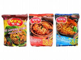 馬來西亞 Vit\'\'\'\'s 唯一麵~乾拌麵/湯麵(78g/88g) 6款可選 團購/泡麵