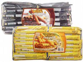 印尼 wasuka~特級威化捲心酥(600g) 巧克力/起司/咖啡/牛奶 4款可選