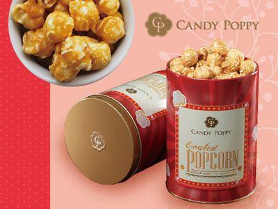 CANDY POPPY~經典罐裝爆米花(120g/110g) 紅鑽花生/暖暖桂圓/紫心甜薯 3款可選