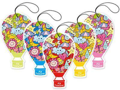 法柏 Bova~熱氣球香氛卡(15g) 5款可選