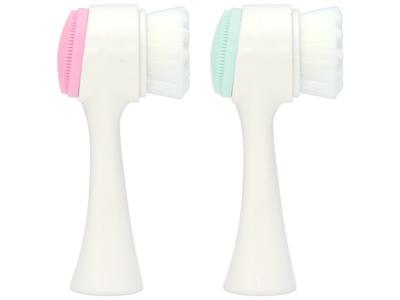 九號美人~雙面凸點洗臉刷(1支入) 粉紅/粉綠 多款可選