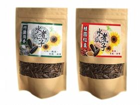 小綠人~水煮瓜子(250g) 竹鹽茴香/桂圓紅棗 款式可選
