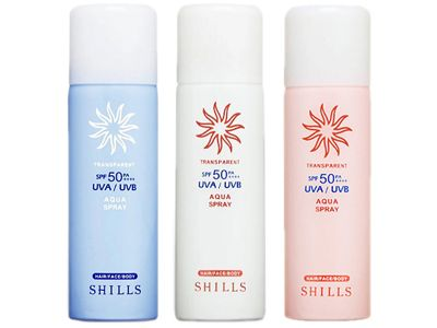 SHILLS 舒兒絲~很耐曬透明感美白防曬噴霧(100ml) 款式可選