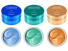 韓國ARONYX玻尿酸補水/海洋珍珠/黃金蝸牛全效保濕眼膜(30對)款式可選