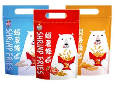 蝦薯條(80g) 原味/起士/田園番茄 款式可選
