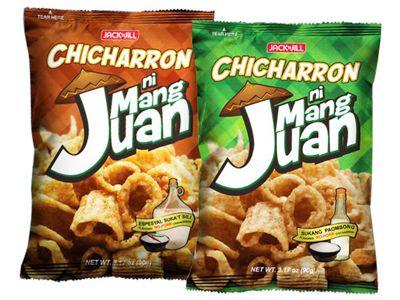 菲律賓 JACK n JILL~MangJuan仿炸豬皮脆片(豌豆點心)90g 款式可選
