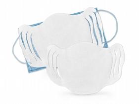 小潔~口罩護墊(100入)(可穿耳帶固定款)貼合臉部弧線造型防禦必備