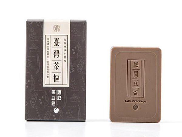 臺灣茶摳~黑豆皂(100g)【D044115】肥皂/香皂