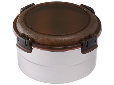掌廚可樂膳~316不鏽鋼圓型保鮮便當盒(1050ml)