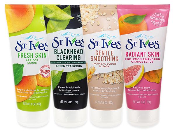 美國ST.Ives~磨砂霜(條狀170g) 杏桃/綠茶/燕麥/檸檬+柑橘 款式可選【D103609】