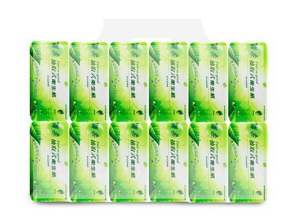 滿柔~環保抽取式衛生紙(110抽x12包x6串)【D028000】※限宅配/無貨到付款