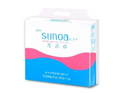 SUNOA 思柔雅~抽取式衛生紙(100抽x10包x8串)