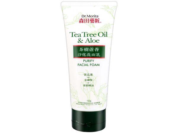 茶樹 洗面乳 蘆薈 洗面乳 森田藥粧 洗面乳